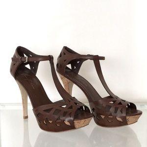 Marc Fisher platform heel sandal
